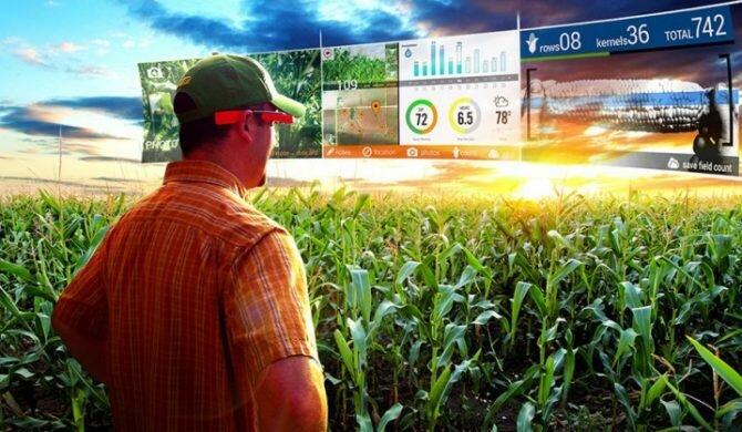 Украинское сельское хозяйство в стиле smart